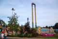 Six Flags Great Escape amusement park Royalty Free Stock Photo