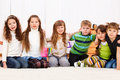 Six kids Stock Images