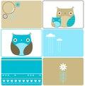 Six owls designs