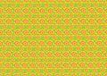 Sixties wallpaper pattern