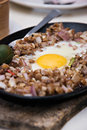 Sizzling Pork Dish Royalty Free Stock Photo