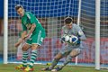 SK Rapid vs. Austria Wien Stock Images