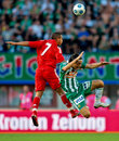 SK Rapid vs. Liverpool FC Royalty Free Stock Images