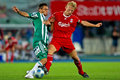 SK Rapid vs. Liverpool FC Royalty Free Stock Image