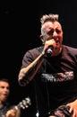 Ska pska punk rock band von spanien führt live auf dem stadium durch Stockbilder