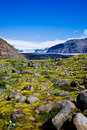 Skaftafell National Park, glacier Royalty Free Stock Images