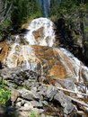Skalkaho falls in western montana Royalty Free Stock Photography