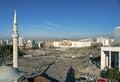 Skanderberg square in tirana albania Royalty Free Stock Photo