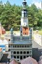 Skansen miniatur in Pobiedziska, Poland Royalty Free Stock Photo