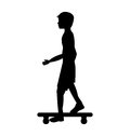 Skate board extreme sport