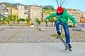 Skate boy Royalty Free Stock Photo