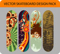 Skateboard design pack Royalty Free Stock Photo