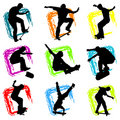 Skateboard vector Royalty Free Stock Photo