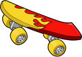 Skateboard Vector Illustration Royalty Free Stock Photo