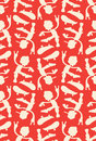 Skateboarders cool pattern eps Royalty Free Stock Photography
