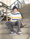 Skater Boy Royalty Free Stock Photo