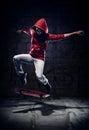 Skater trick Royalty Free Stock Photo