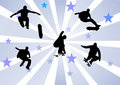 Skaters Royalty Free Stock Photography