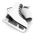 Skates for figure skating Stock Photos