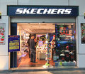 Skechers shop in hong kong Royalty Free Stock Photo