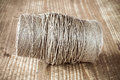 Skein jute twine Royalty Free Stock Photo