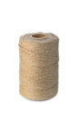 Skein of yarn natural jute Royalty Free Stock Photo