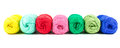 Skeins of yarn Royalty Free Stock Photo