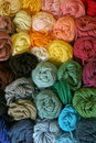 Skeins of Yarn - Vertical Royalty Free Stock Photo