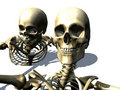 Skeletons 10 Royalty Free Stock Images