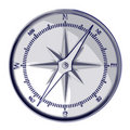 Sketch compass Royalty Free Stock Images
