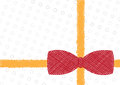 Sketch drawing ribbon background Royalty Free Stock Images