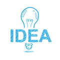Sketch idea concept design Royalty Free Stock Image