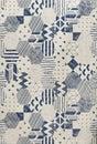 Sketch pattern tile