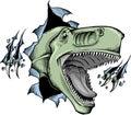 Sketchy dinosaur Vector Royalty Free Stock Photo