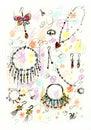 Sketchy Jewelry