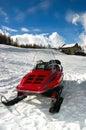 Ski-doo Royalty Free Stock Photo