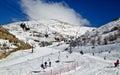 Ski elevators Royalty Free Stock Photo