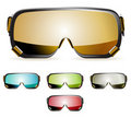 Ski goggles Royalty Free Stock Photo
