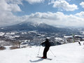 Ski in Hokkaido, Japan Royalty Free Stock Images