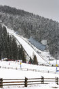 Ski Jump in Zakopane Royalty Free Stock Photo