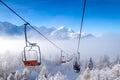 Ski Lifts At Vogel Mountains I...