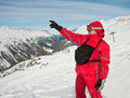 Ski resort of Hochgurgl. Austria Royalty Free Stock Photos
