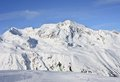 Ski resort hohrgurgl austria view of Stock Photography