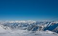 Ski resort of Kaprun, Austria Stock Image