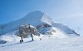 Ski resort of Kaprun, Austria Royalty Free Stock Photo