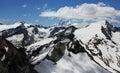 Ski resort Kaprun  ZELL AM SEE in Austria.  Stock Image