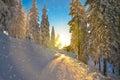 Ski slope Romania