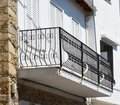 Skiathos Greek Island Terrace Royalty Free Stock Photo