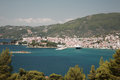 Skiathos Town Stock Photography