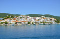 Skiathos town greece photo of island Stock Photo